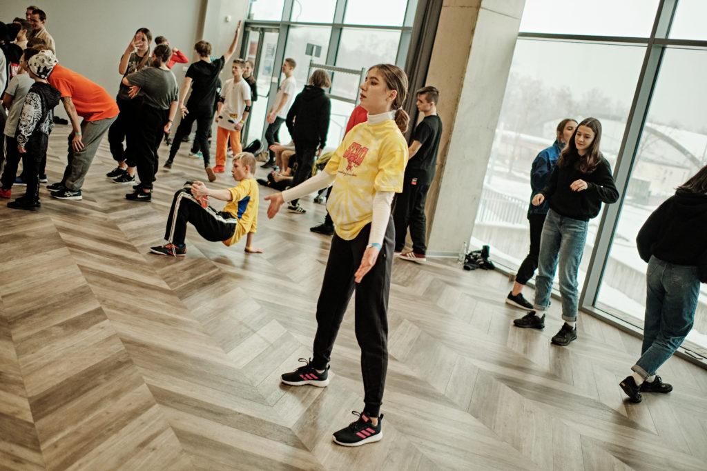 Zawody juniorów w breakdance i street dance
